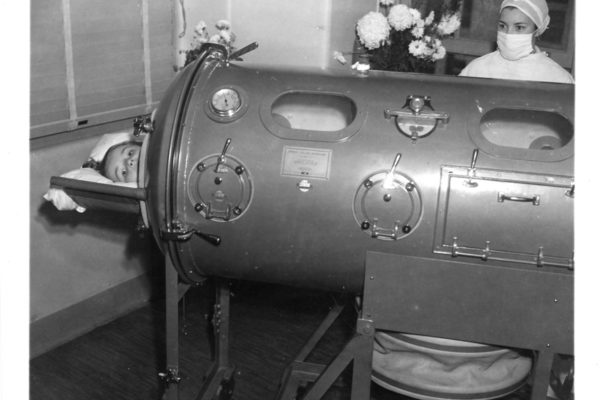 Iron lung: Doernbecher Memorial Hospital for Children