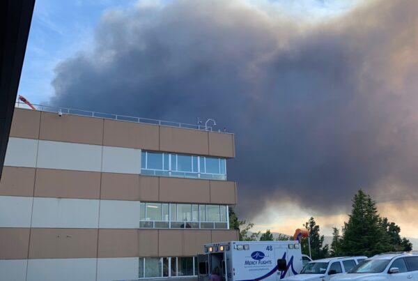 Mercy Flights crews evacuate hospitals during wildfires